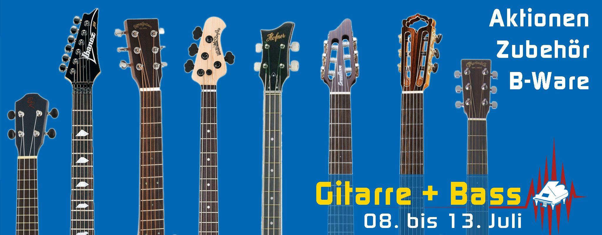 B-Waren Gitarren mit nur minimalen optischen Fehlern