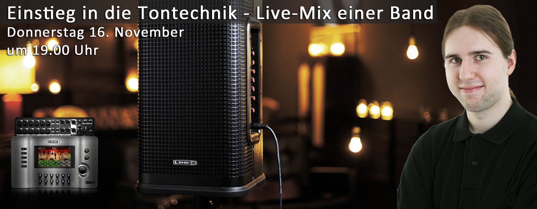 Workshop: Einstieg in die Tontechnik - Live Mix einer Band